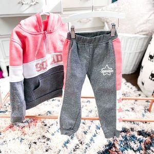 5/6Y Matching Sweatsuit Set